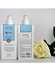 BEAUTY BUFFET SCENTIO MILK PLUS WHITENING CO-ENZYME Q10 BODY LOTION