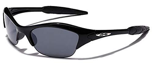 Kd55 Kids Child Girls Boys (3-7yr) Sport Sunglasses Cycling Baseball (black, -