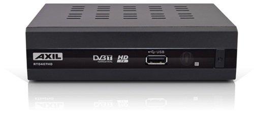 Engel Axil RT0407HD tV set-top boxes - Reproductor/sintonizador (Terrestrial, DVB, 720 x 576, 1280 x 720, 1920 x 1080 Pixeles, H.264, MKV, MPEG2, MP3, JPS) Negro Engel Axil Spain