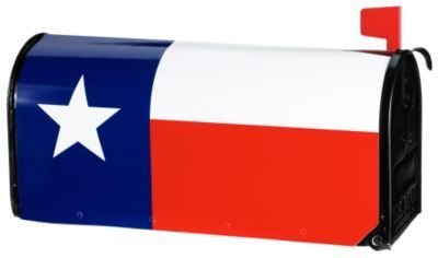 Texas Flag Mailwraps Magnetic Mailbox Cover by MagnetWorks