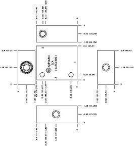 ECA - Aluminum Manifold, T-11A (Line Mount)