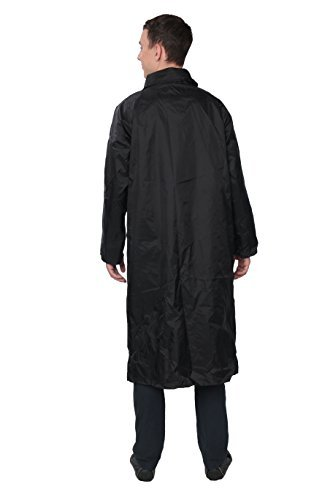 Fit Rite Men S Nylon Hooded Waterproof Long Lightweight