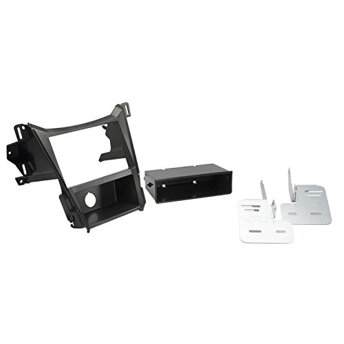 (SCOSCHE GM5216B 2010-Up Chevrolet Equinox/GMC Terrain Double DIN & DIN with Pocket Kit)