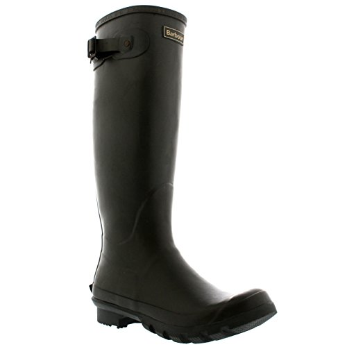 Barbour Womens Bede Mid Calf Waterproof Snow Winter Wellingtons Boots - Olive - 8-39 from Barbour