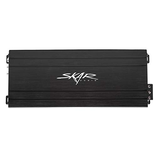 Skar Audio SK-M9005D Compact Full-Range Class D 5 Channel Car Amplifier, - Hpf Compact