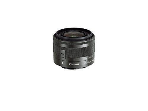 Canon EF-M 15-45mm f/3.5-6.3 Image Stabilization STM Zoom Lens (Renewed)
