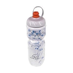 Polar Bottle Zipstream Breakaway - 20oz Insulated Water Bottle (Blue)