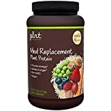 plnt Vanilla Meal Replacement Powder Vegan NonGMO Plant Protein That Provides Energy Satisfies Hunger, 16g of Protein Per Serving (2.4 Pound Powder)
