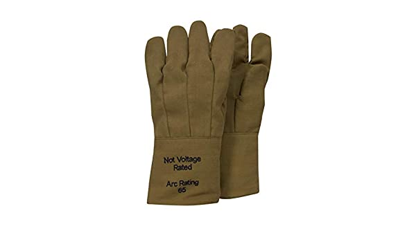 92ebf9014769 National Safety Apparel G51KDQT14 ArcGuard DuPont Kevlar Nomex Para Aramid Arc  Flash Gloves