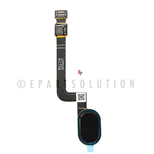 ePartSolution_Home Button Flex Cable for Motorola Moto G5 Plus XT1680 XT1687 XT1686 XT1685 Replacement Part USA Seller (Black)