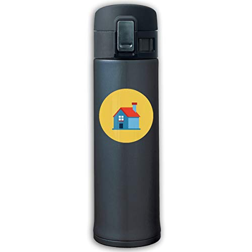 Housing Stainless Steel Vacuum-Insulated Mug - BPA Free - Traveler Cup With Bounce Cover
