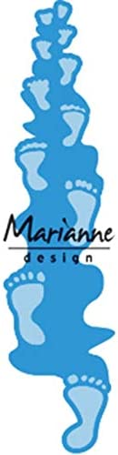 Metal Azul claro para Proyectos de Manualidades de Papel Lavanderas Marianne Design Creatables Plantillas de Corte y Embossing Small