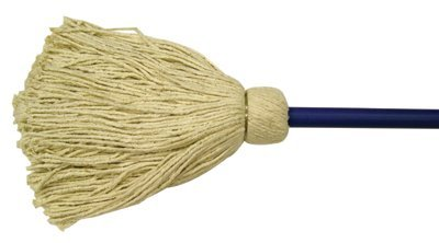 Deck Mops, 32 oz, Cotton, Off-White (24 Pack)