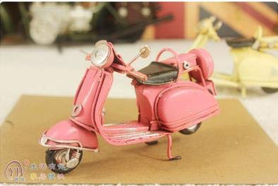 Kiartten Simulation Fruit - Home Decor Decoration Crafts Figurines Iron Metal Craft Mini Classic Motorcycle Models 1 Pcs - Disney Metal Figurines ()