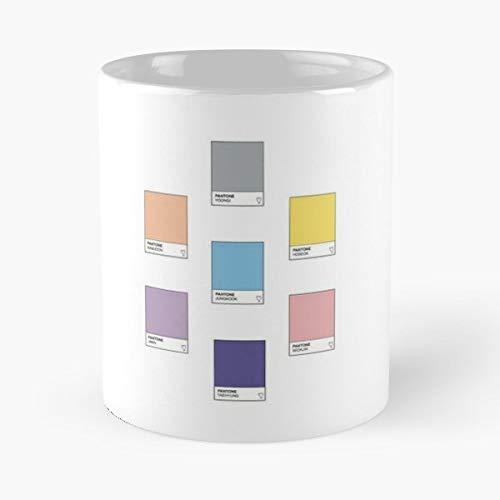 Kpop Fanart Pantone Artist Gift Coffee/tea Ceramic Mug Father Day