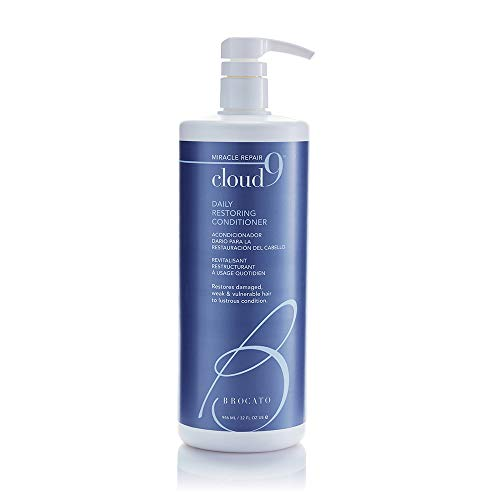 Brocato Cloud 9 Daily Restoring Conditioner, 32 Ounce, by Beautopia Hair (Brocato Saturate Moisture Shampoo)