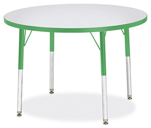 Berries 6488JCA119 Round Activity Table, A-Height, 36