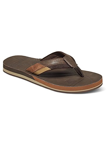 9 Quiksilver Flipflops Hiatus UK Brown Black xqPXTqR