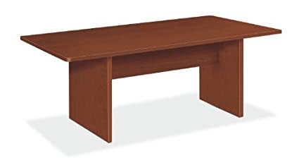 Amazoncom BSXBLCRAA Basyx BL Laminate Series Rectangular - Rectangular conference room table