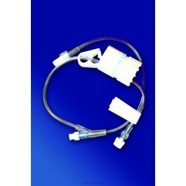 IV Flow Control Extension Set with Smartsite® Needleless Injection Site-NA - Box of (Needleless Injection)