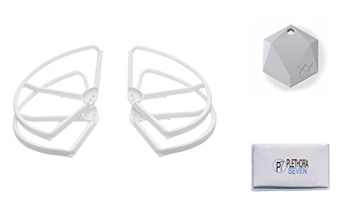 DJI-Phantom-3-Propeller-Guards-Part-2-for-Advanced-Professional-Quadcopter-with-XY-Find-It-Beacon-Cleaning-Cloth-Set-of-4