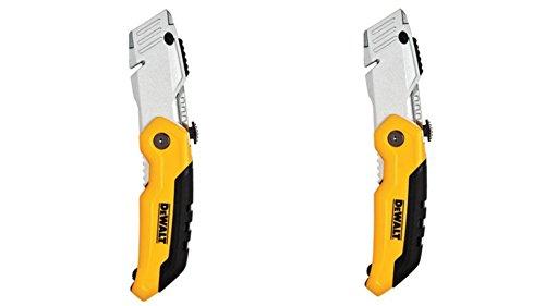 DEWALT DWHT10035L Folding Retractable Utility Knife (Pack of 2)