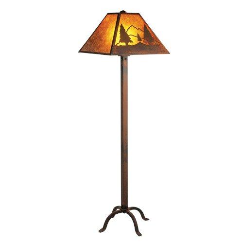- Steel Partners Lighting Floor Lamp, Timber Ridge