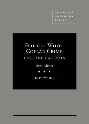 Federal White Collar Crime,Cs.+Mtrls.