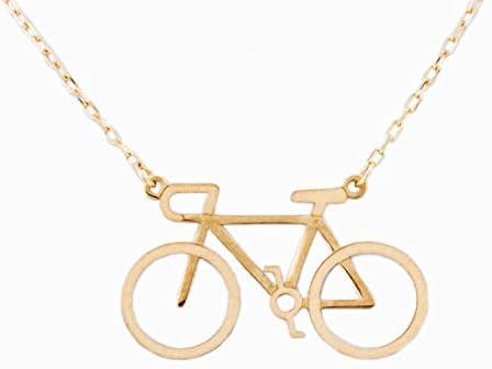PRIORITY Gargantilla Bicicleta en Oro 18K Gargantilla Bicicleta, Gargantilla Bicicleta en Oro, Gargantilla para Mujer, Gargantilla para Mujer en Oro, Gargantilla Deportista: Amazon.es: Joyería