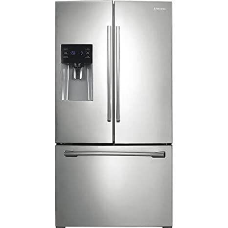 Amazon Samsung Rf263beaesr 256 Cu Ft Stainless Steel French