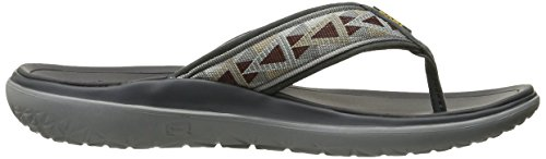 Teva Men's Terra - Float Flip Sports and Outdoor Lifestyle flip Flop Grey (Mosaic Grey/Chocolate- Mgch) u9YTg6q