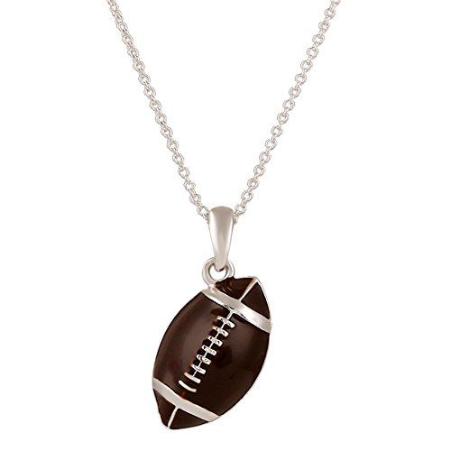 D EXCEED Jewelry American Football Ball Necklace Gift for Girls Rugby Football Charm Jewelry Gift for Women