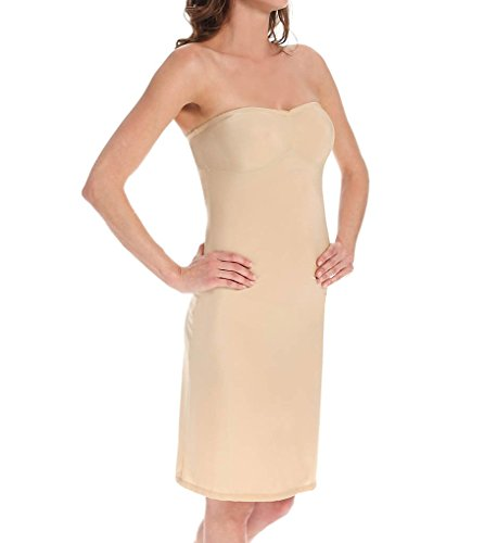 - Only Hearts Women's Second Skins Strapless Slip, Nude, Tan, Small