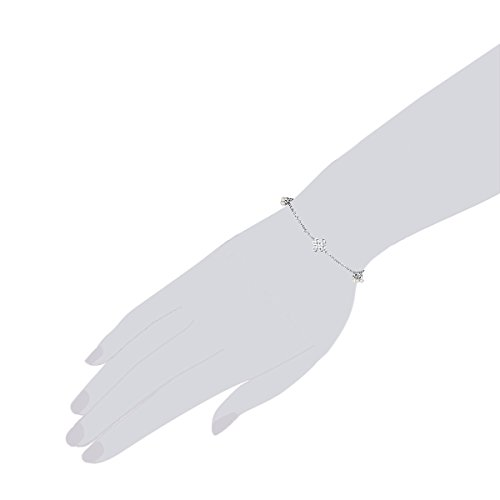 Chakra Pearls Bracelet Blanc 21cm