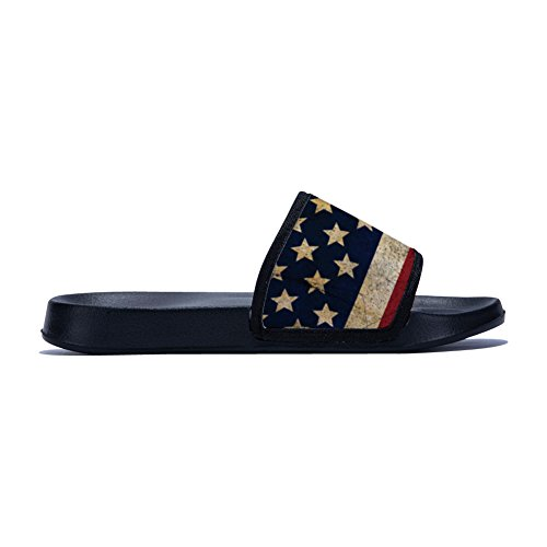 Slip Black Non American Quick Drying Buteri Womens Slippers Slippers Slippers for Flag Ypx0wwAPU