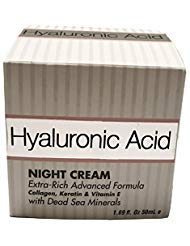 Hyaluronic Acid Extra-Rich Advanced Formula Night Cream, 1.69 fl. oz.