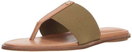 Taryn Rose Women's Kamryn Vachetta Flat Sandal, Sage, 9 M M US - Vachetta Green