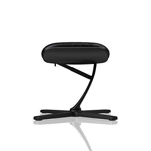 noblechairs Footrest for Gaming Chair - Office Chair - Real Leather - Footrest - Practical Adjustment - 360° Rotatable - 57° Tiltable - Black by noblechairs (Image #4)