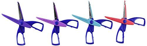 (Darice 1198-85 4-Pack Big Value Paper Edging Craft Scissors)