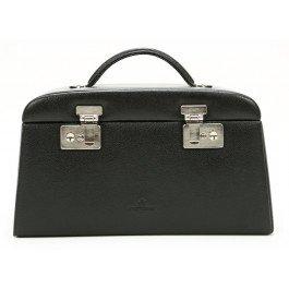 Windrose Beluga Schmuckkoffer mit 5 Seitenschubladen 8 schwarz