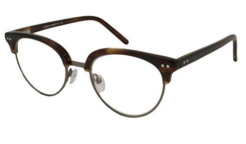 V Optique Rx Eyeglasses - Camilla Tortoise / Frame only with demo lenses.-VN045027TRTFR