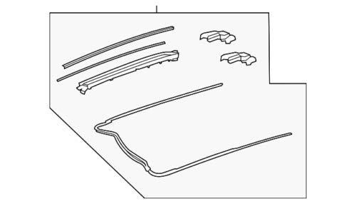 Mercedes Benz Genuine Slide Assembly 205-780-30-00 by Mercedes Benz