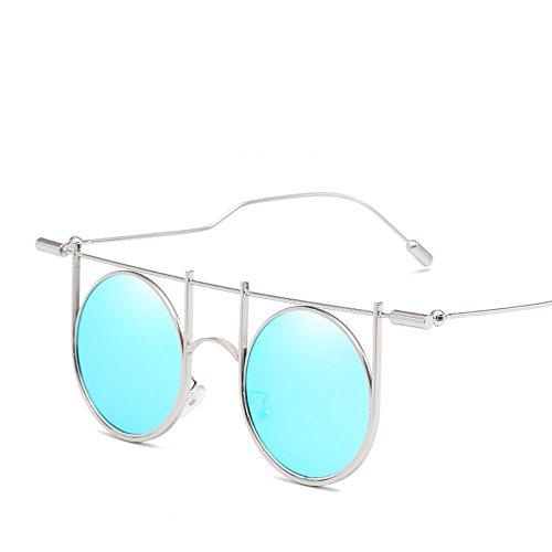 Sol de R de Versión Nuevas los Gafas de la de Tendencia Gafas pie Mostrar de Europeas Cool Estilo Gafas de y con Hombres Sol Axiba de creativos C a Estilo Personalidad Regalos Etro Americanas Sol BAqvwff
