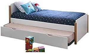 Feelharmonie - Juego de cama nido con somier y 2 colchones ...