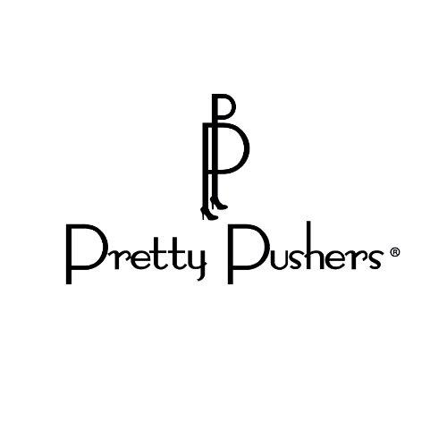 Pretty Pushers Butterfly Sleeve Maternity/Labor/Nursing Dress