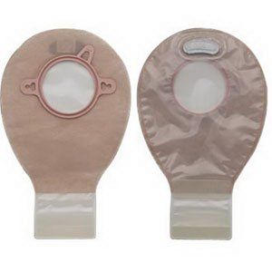 New Image 2-Piece Mini Drainable Pouch 1-3/4'', Lock N Roll, Transparent