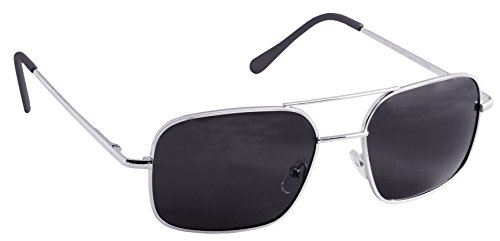 55mm Burn Notice Sunglasses with Polarized Black Onyx Lenses (Michael Von Burn Notice)