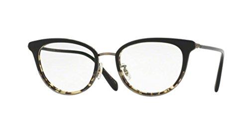 Oliver Peoples - Theadora - 1211 51 - Eyeglasses (BLACK/DTBK GRADIENT, - Oliver Online Peoples Buy