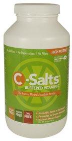 C-Соли буферизацией Витамин C Powder 26oz (735g) - 140 порций | 4000 мг витамина С в доза | Наиболее эффективные и высочайшее качество Буферизированный Витамин C на рынке | сформулирована The Greatest витамина С Minds | некислые и нежный на Желудок | повы