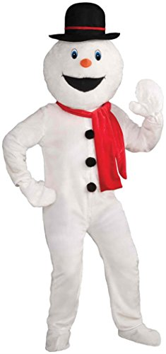 Forum Novelties Men's Deluxe Snowman Mascot Costume, Multi, One Size by Forum Novelties